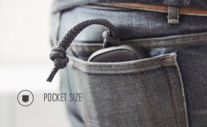 Easily fits into your back pocket.