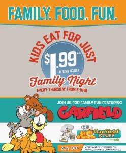 Garfield-Family Night