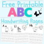 Handwriting Pages