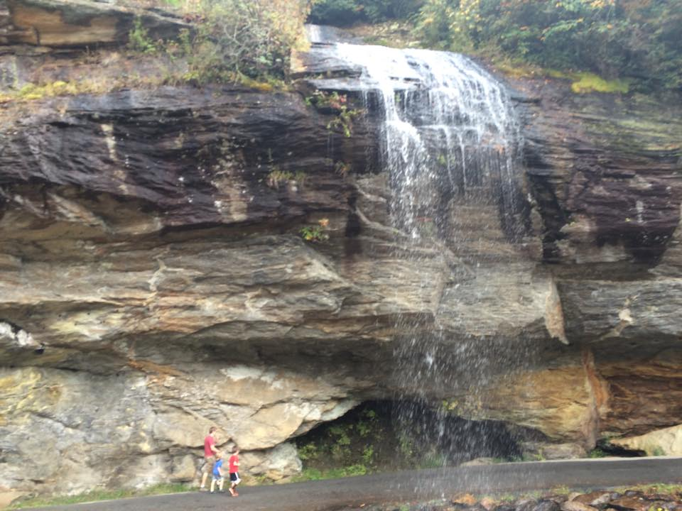 Bridal Veil Falls, Highlands, NC