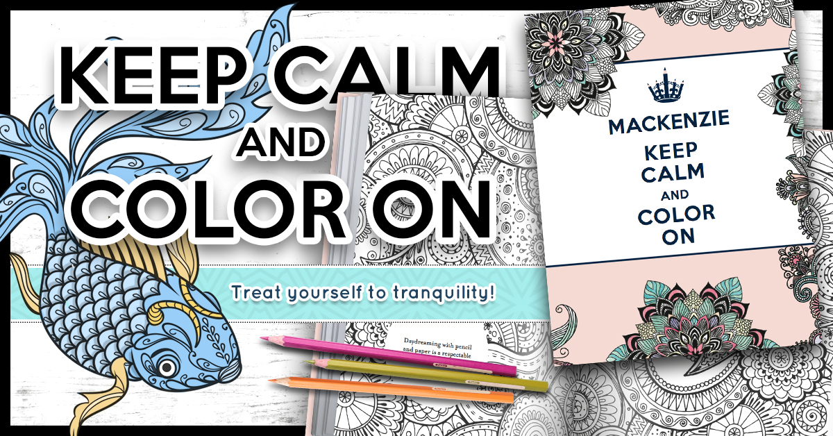 Personalized adult coloring books as they grow up Personalized coloring books for adults