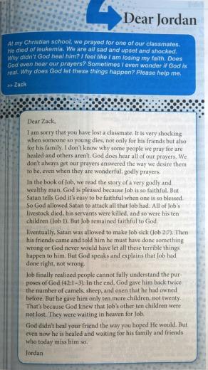 Zondervan Teen Study Bible 107