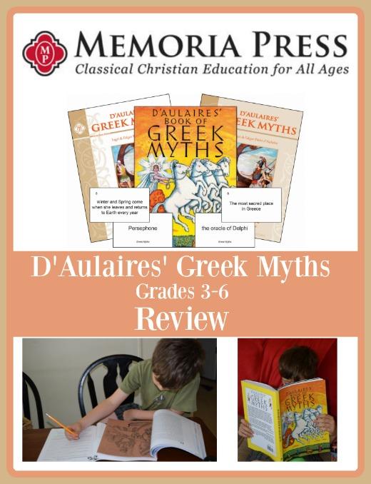 D'Aulaires' Greek Myths Set