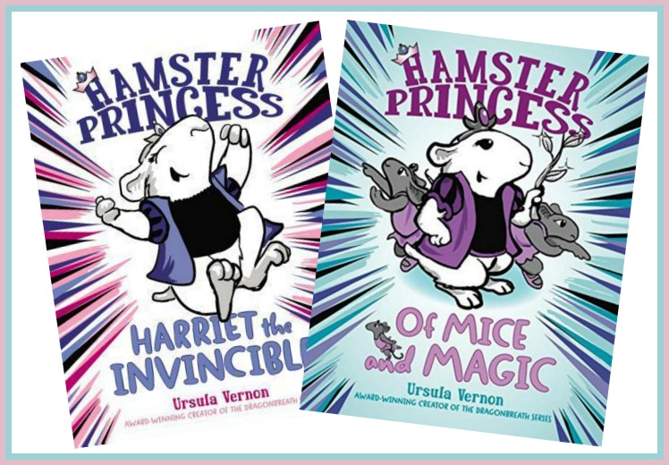 Hamster Princess Series by Ursula Vernon