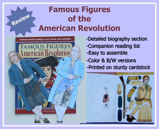 famous Figures of the American Revolution Review