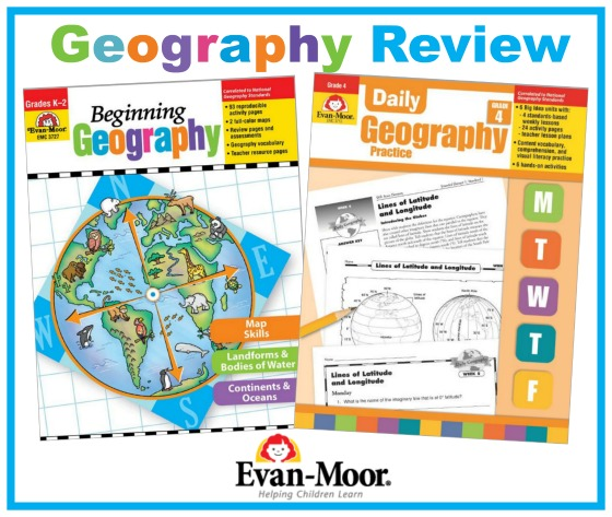 Evan-Moor Geography Review