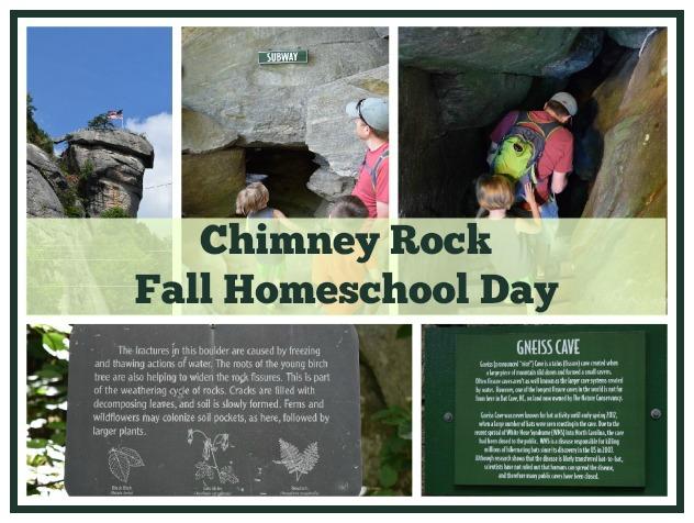 Chimney Rock Fall Homeschool Day