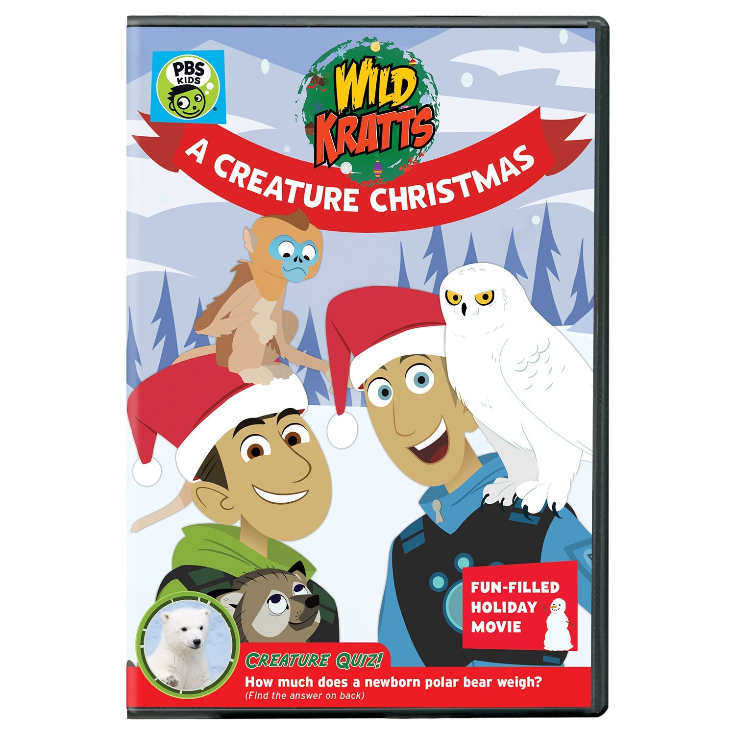 Wild Kratts: A Creature Christmas on DVD